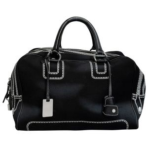 D&G LILY CANVAS TRAVEL WEEKEND BAG